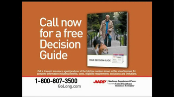 AARP Healthcare Options TV Spot, 'Go Long' - Thumbnail 7