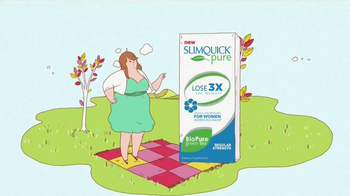 SlimQuick Pure For Women TV Spot, 'Natural' - Thumbnail 6