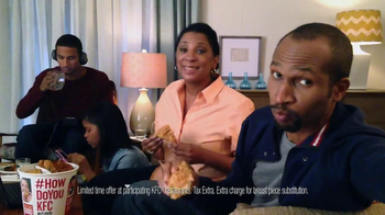 KFC Favorites Bucket TV Spot, 'Family Time' - Thumbnail 7
