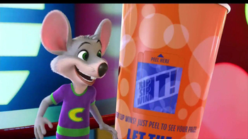 Chuck E. Cheese's TV Spot, 'Rip it! Sip it! Win it!'