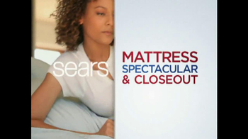 Sears Mattress Spectacular & Closeout TV Spot - Thumbnail 5