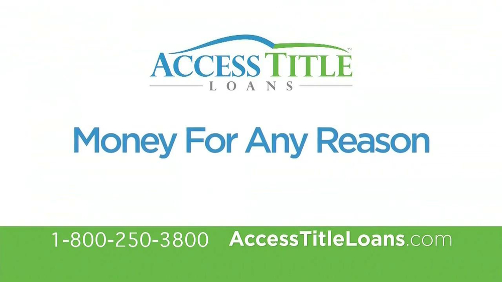 Western Sky Loans >> Access Title Loans TV Commercial, 'Yes' - iSpot.tv