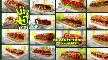Subway TV Spot, 'JanuANY' Con Pelé y Michael Phelps - Thumbnail 9