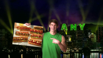 Subway TV Spot, 'JanuANY' Con Pelé y Michael Phelps - Thumbnail 2