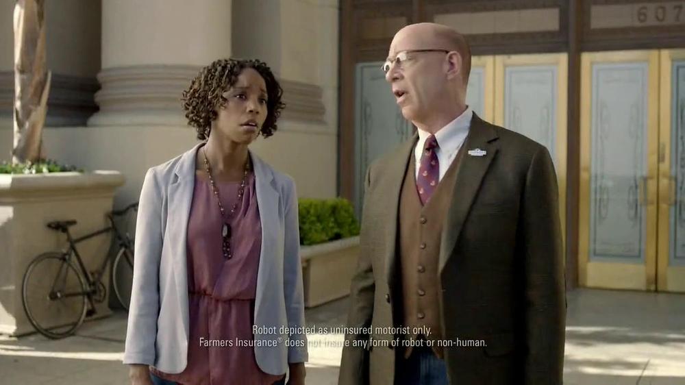 Farmers Insurance TV Commercial, 'Robo Driver' - iSpot.tv