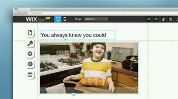 Wix.com TV Spot, 'Do It Yourself' - Thumbnail 4