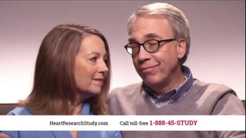 Heart Research Study TV Spot, 'Investigational Medication' - Thumbnail 1