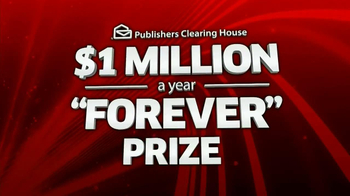 Publishers Clearing House TV Spot, \'Million a Year\'