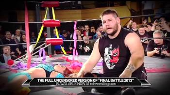 ROH Wrestling TV Spot, 'The Full Uncensored Version'