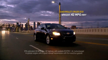 Chevrolet Cruze Eco TV Spot, 'Around the Country' - Thumbnail 9