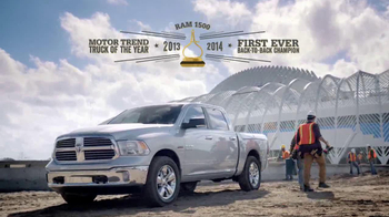 2014 Ram 1500 TV Spot, 'Modern Marvel' - Thumbnail 8