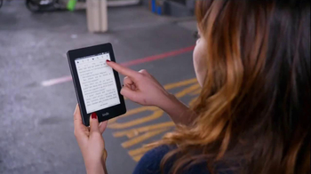 Amazon Kindle Paperwhite TV Spot, 'Parenthood' Featuring Mae Whitman - Thumbnail 4