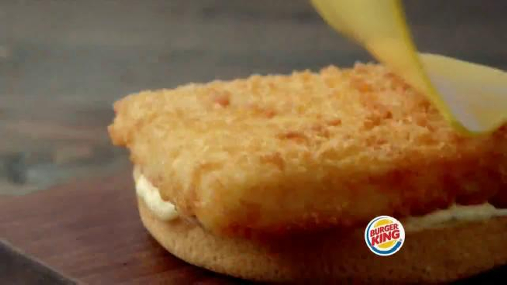 Burger king big fish tv commercial 39 2 for 5 fishing for Burger king big fish