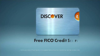 Discover Card It Card: FICO TV Spot, 'Surprise' - Thumbnail 6