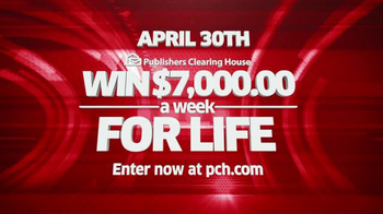 Publishers Clearing House TV Spot, 'Set For Life Prize' - Thumbnail 10