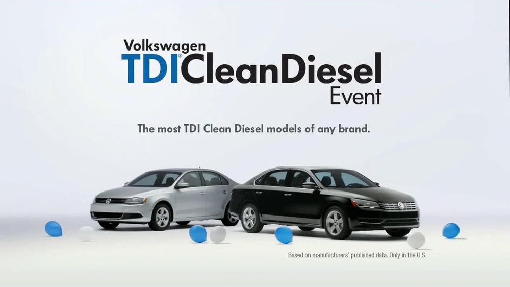 Volkswagen Passat TDI Clean Diesel Event TV Commercial, 'Two Deals in One' - iSpot.tv