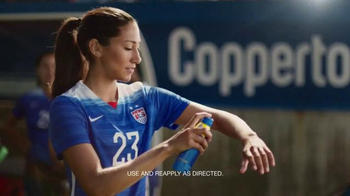 Coppertone Sport TV Spot, 'Soccer' Featuring Christen Press
