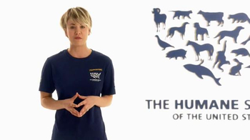 Humane Society, 'Stop Cruelty' Featuring Kaley Cuoco
