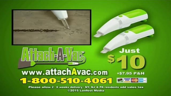 Attach-a-Vac TV Spot, 'Clean Like a Machine' - Thumbnail 10