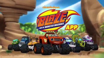 Nickelodeon Blaze and the Monster Machines App TV Spot, 'New Features'