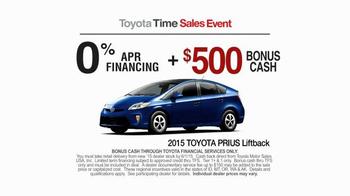 2015 Toyota Prius Liftback TV Commercial, 'Toyota Time ...