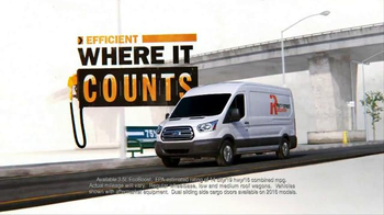Ford Transit TV Spot, 'Own the Work'