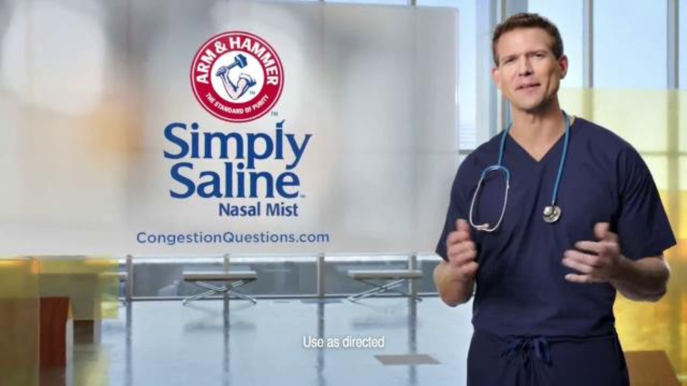 Simply Saline Tv Commercial Congestion Questions Tom