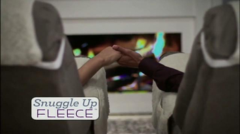 Snuggle Up Fleece TV Spot, 'Comfortable and Baby Soft'