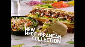 Subway Mediterranean Collection TV Spot, \'Fresh Feta\'