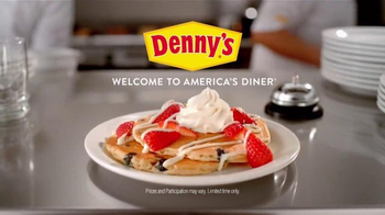 Denny's Red, White & Blue Pancakes TV Spot, 'Founding Fathers'