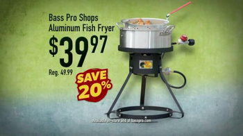 Bass pro shops spring fishing sale tv commercial 39 bait for Bass pro fishing sale