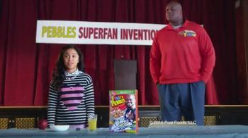 Fruity Pebbles TV Spot, 'Pebbles Superfan Invention Playoffs'
