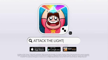 Steven Universe: Attack the Light TV Spot, \'In the Action\'