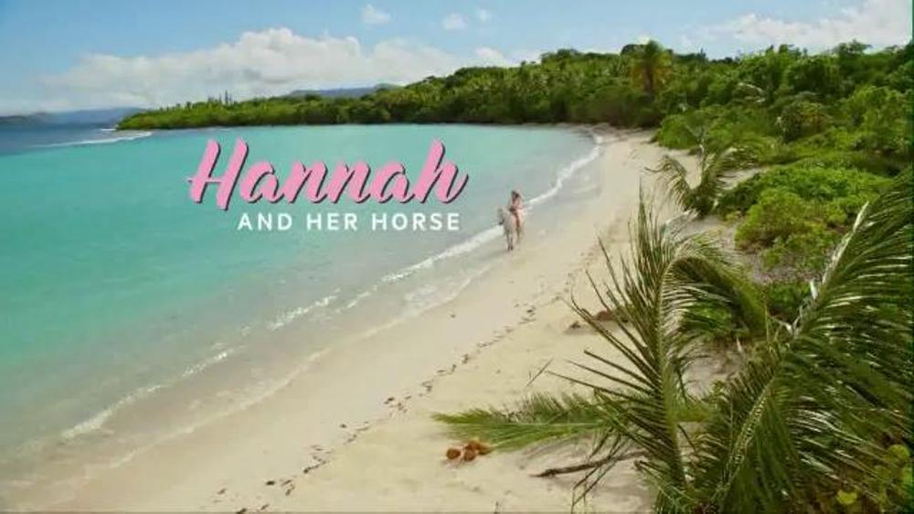 Directv Tv Commercial Hannah Davis Riding Her Horse