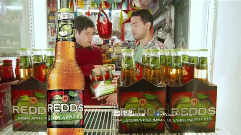 advertisement analysis redd s apple ale Millercoors' redd's apple ale to launch nationally with super bowl ad (video) the brewer has purchased time on local tv stations in the great lakes and southeast regions for a 15-second ad for december 18, 2012 at 1:41 pm.