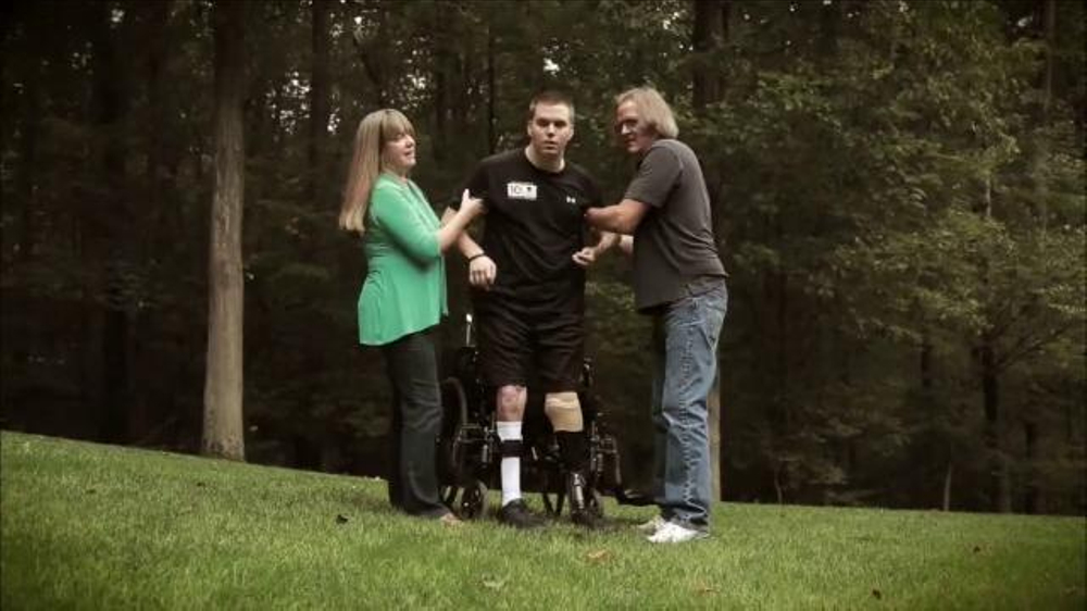 Wounded warrior project celebrity spokesperson ads