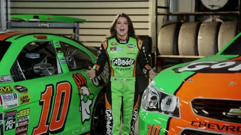 GoDaddy TV Spot, 'Air Wrench: Tony Stewart Pranks Danica Patrick' - Thumbnail 1