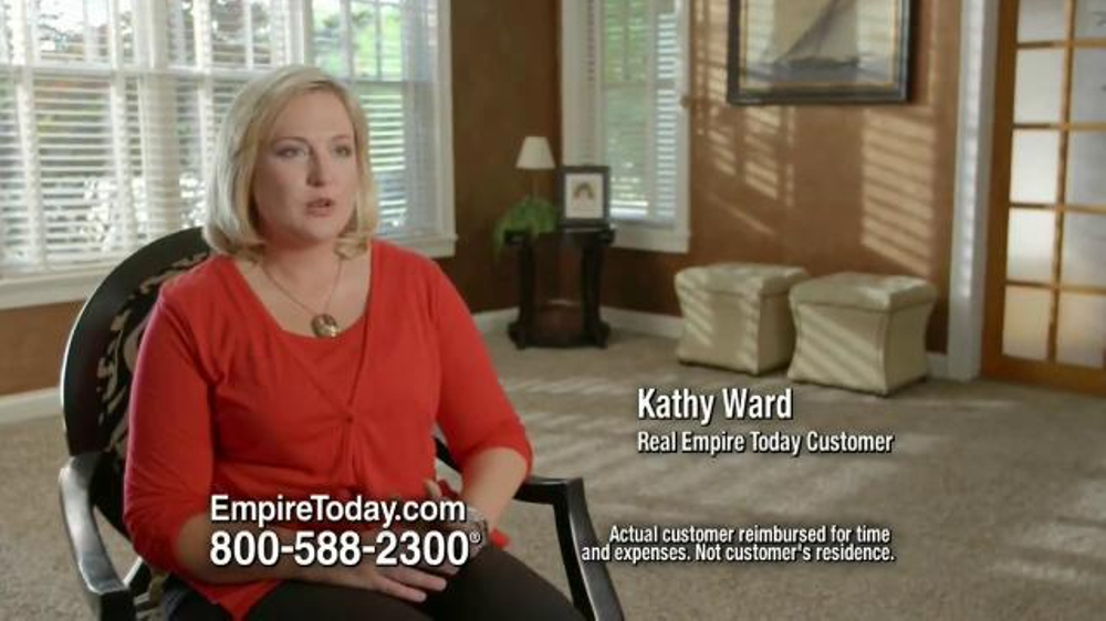 Empire Today Buy 1 Get 1 Free Sale TV Commercial, 'Kathy Ward ...