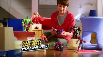 Marvel Super Hero Mashers TV Spot, 'Evildoers Best Beware'