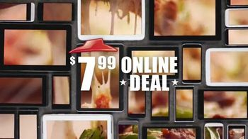 Pizza Hut TV Spot, '$7.99 Online Deal' - Thumbnail 8