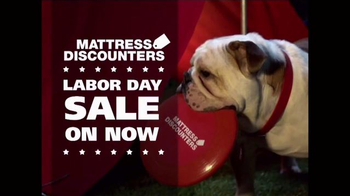 Mattress Discounters Labor Day Sale TV mercial Work