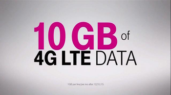 T-Mobile TV Spot, 'Four Lines for $100 a Month' - Thumbnail 4