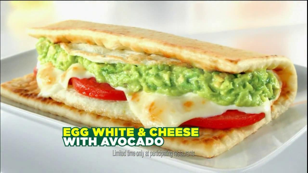 Subway Egg White & Cheese With Avocado TV Commercial, 'Bus' - iSpot.tv