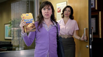 Triscuit TV Spot For Angry Satisfied Customer
