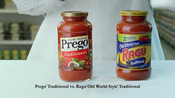 Prego TV Spot For Prego Vs. Ragu - Thumbnail 3