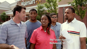 Walmart TV Spot Featuring The Smith Family - Thumbnail 3