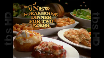 Longhorn Steakhouse TV Spot For Steakhouse Dinner For Two