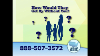 Listen Up America TV Spot, 'Life Insurance Policies' - Thumbnail 4