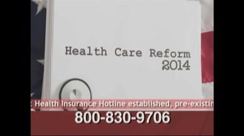 Health Insurance Hotline TV Spot For Health Insurance Update - Thumbnail 3