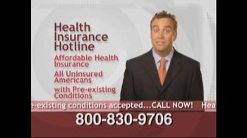 Health Insurance Hotline TV Spot For Health Insurance Update - Thumbnail 7